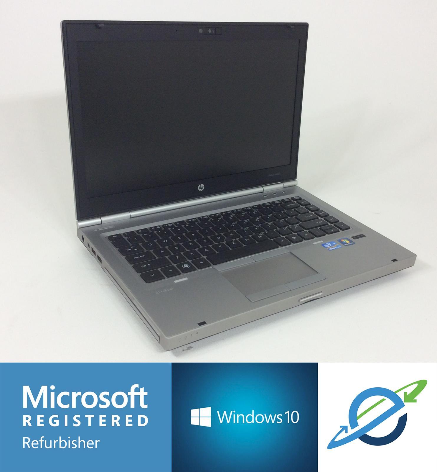 """HP ELITEBOOK 8460P 14"""" Intel Core i5-2520M 2.5GHz 320GB 4GB RAM - Windows  10 Pro"""