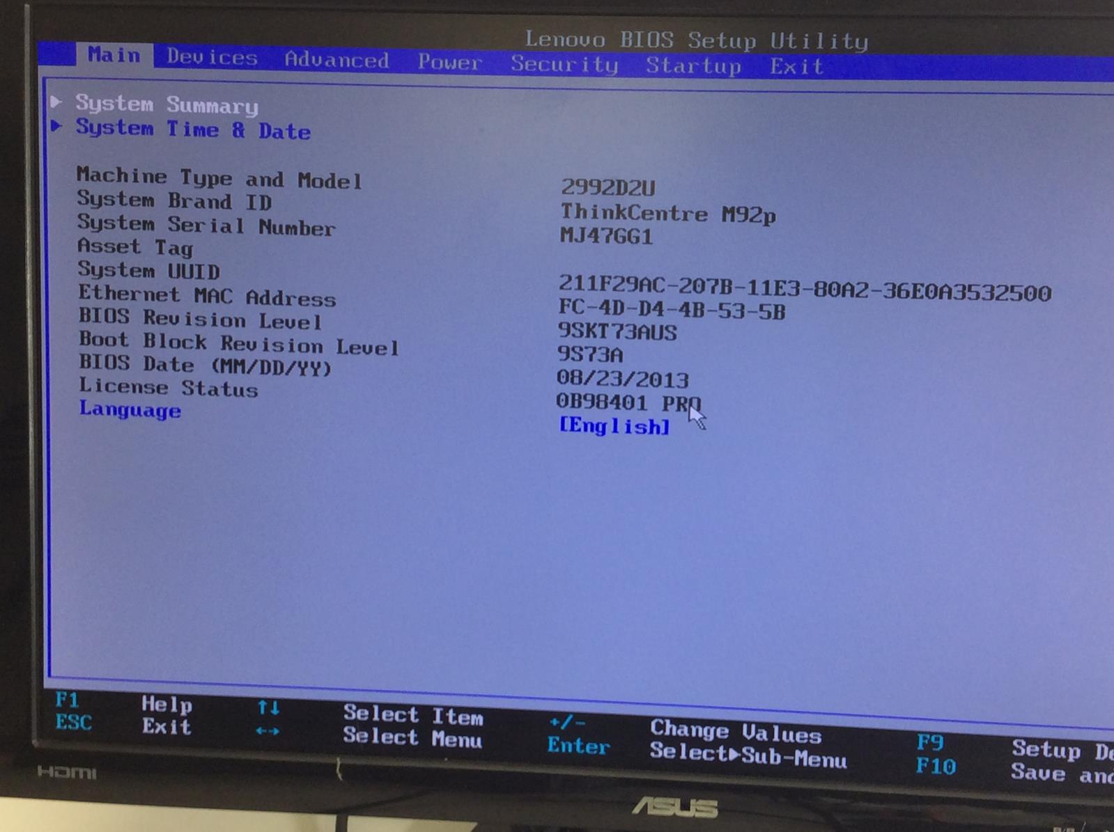 Details about LENOVO THINKCENTRE M92P Intel Core i7-3770 3 40GHZ 8GB 1TB -  Windows 10 Pro